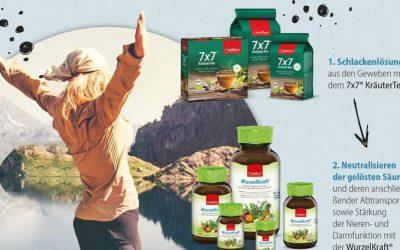 Basisch Leben mit den Produkten von Jentschura